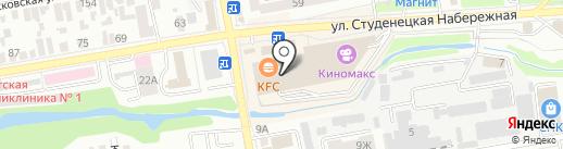 А-мебель на карте Тамбова