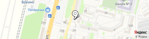 Магазин по продаже хлеба на карте Строителя