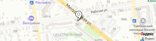 ОСТРОВОК на карте Тамбова