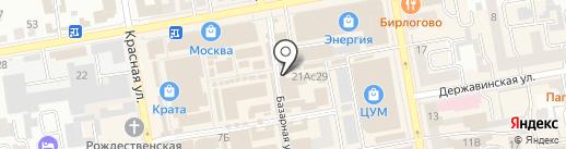Электро на карте Тамбова