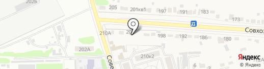 Красненькая на карте Красненькой