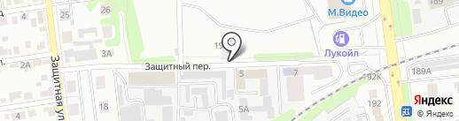 ЛСК на карте Тамбова