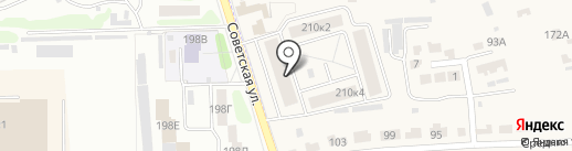 Строительная компания Жупиков на карте Красненькой