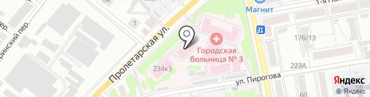 Родильный дом на карте Тамбова