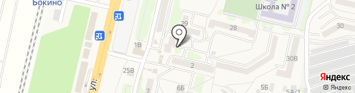 Парикмахерская на карте Строителя
