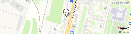 Шиномонтажная мастерская на карте Строителя