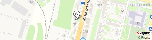 Тамбовский похоронный дом на карте Строителя