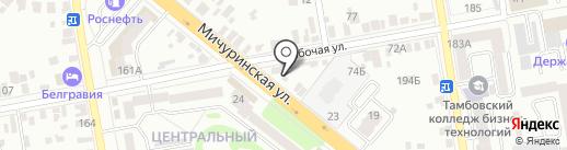 Ремонтная фирма на карте Тамбова
