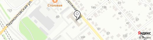 Специализированная пожарная часть №1 на карте Тамбова