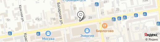 Тамбовчанка, ЗАО на карте Тамбова