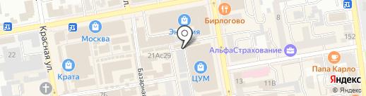 Магазин текстиля для дома на карте Тамбова