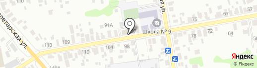 ТамбовТеплоГаз на карте Тамбова