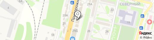 Банкомат, Банк ВТБ 24, ПАО на карте Строителя