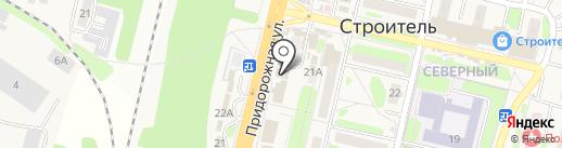 Цирюльникъ на карте Строителя