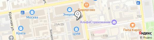 Магазин товаров для сада и огорода на карте Тамбова