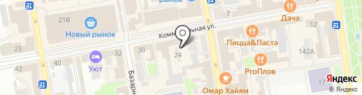 Адвокат Крыловский М.В. на карте Тамбова