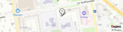 Атина и Партнеры на карте Тамбова