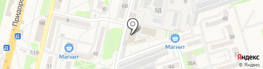 Амарант на карте Строителя