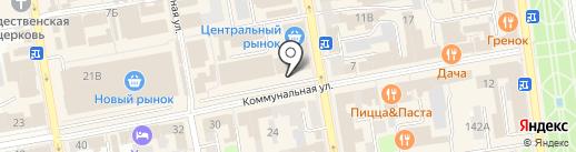 Читай город на карте Тамбова