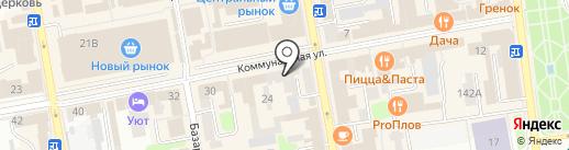 Котовская керамика на карте Тамбова