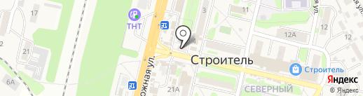 Белорусские колбасы на карте Строителя