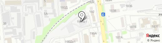 Махаон на карте Тамбова