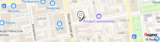 АкваТок на карте Тамбова