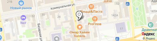 Купец на карте Тамбова