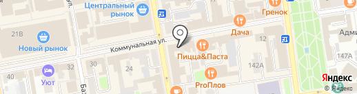 Эконом карман на карте Тамбова