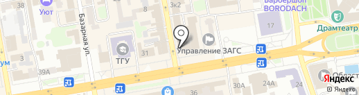 Круиз+ на карте Тамбова