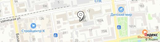 Межрегиональное объединение по инженерным изысканиям в строительстве на карте Тамбова