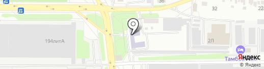 Колледж техники и технологии наземного транспорта им. Солнцева М.С. на карте Тамбова