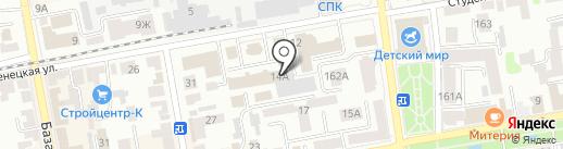 Верхне-Донское предприятие магистральных электрических сетей на карте Тамбова