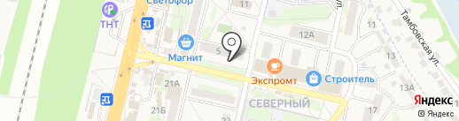 Тамбовская Энергосбытовая Компания, ПАО на карте Строителя