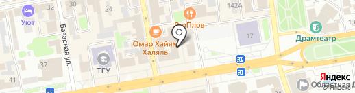 Оздоровительный центр на карте Тамбова