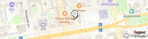 Скальпель на карте Тамбова