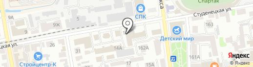 Московская академия продаж на карте Тамбова