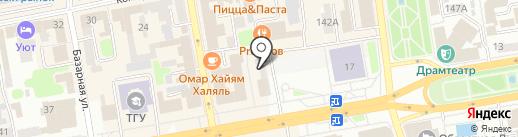 Управление ЗАГС на карте Тамбова
