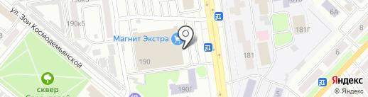 Салон оптики на карте Тамбова