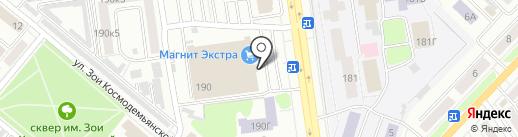 Банкомат, Банк Уралсиб, ПАО на карте Тамбова