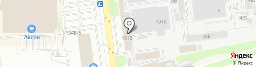 Вторметсервис на карте Тамбова
