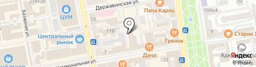 Lila roka на карте Тамбова
