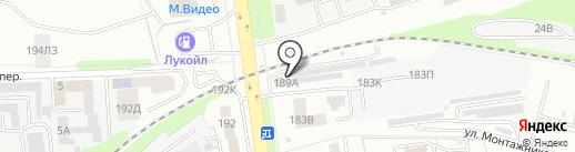 Bravo на карте Тамбова