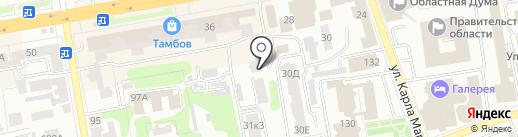iCenter на карте Тамбова