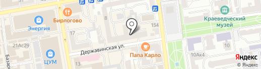 Региональный независимый регистратор на карте Тамбова