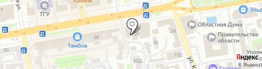 Декорация на карте Тамбова