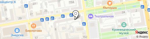Пиковая Дама на карте Тамбова
