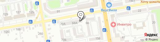 Жигулёвское на карте Тамбова