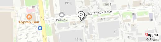 Научно-технический центр, ЗАО на карте Тамбова