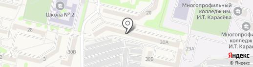 Бугорок на карте Строителя
